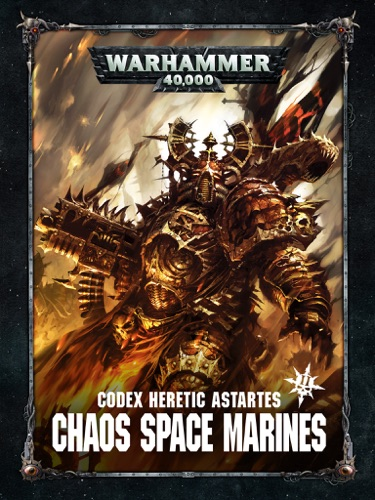 Games Workshop - Codex: Chaos Space Marines