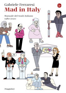Mad in Italy Copertina del libro