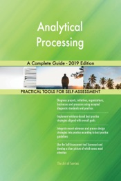 Download and Read Online Analytical Processing A Complete Guide - 2019 Edition