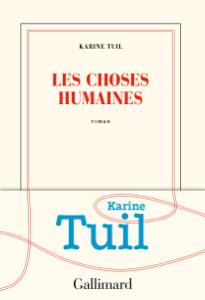 Les choses humaines La couverture du livre martien