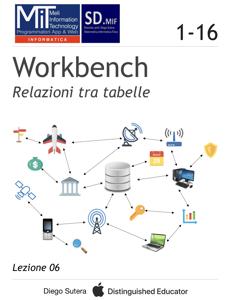 Workbench - Relazioni tra tabelle Copertina del libro