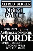 Krimi-Paket Außergewöhnliche Morde April 2019