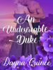 Dayna Quince - An Undesireable Duke bild