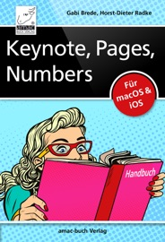 Keynote Pages Numbers Handbuch