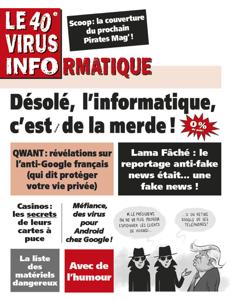 Le 40e Virus Informatique La couverture du livre martien