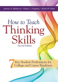How to Teach Thinking Skills