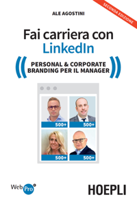 Fai carriera con Linkedin Libro Cover