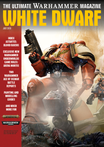 White Dwarf July 2019 La couverture du livre martien