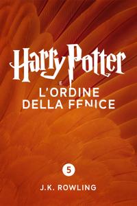 Harry Potter e l'Ordine della Fenice (Enhanced Edition) Copertina del libro