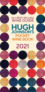Hugh Johnson Pocket Wine 2021 Copertina del libro