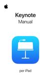 Manual d'usuari del Keynote per a l'iPad