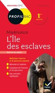 Profil - Marivaux, L'Île des esclaves par Bruno Doucet Couverture de livre