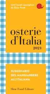 Osterie d'Italia 2021 Libro Cover
