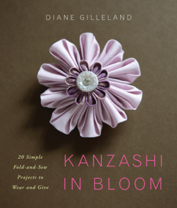 Kanzashi in Bloom Copertina del libro