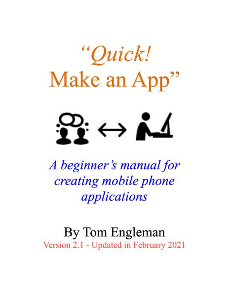 'Quick! Make an App'