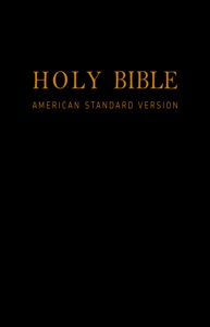 Holy Bible (American Standard Version): Old & New Testaments Book Cover
