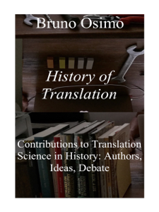 History of Translation Libro Cover