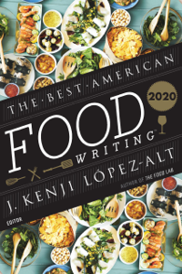 The Best American Food Writing 2020 Book Cover