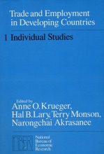 Trade And Employment In Developing Countries, Volume 1