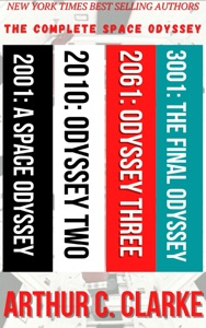 The Complete Arthur C. Clarke's Space Odyssey Series Books 1-4 Book Cover