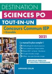 Destination Sciences Po - Concours commun 2021 IEP + Grenoble