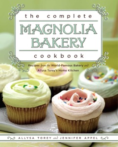 The Complete Magnolia Bakery Cookbook by Jennifer Appel Book Cover