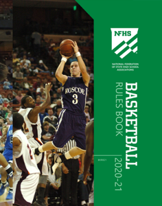 2020-21 NFHS Basketball Rules Book Book Cover