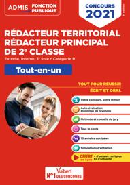 Concours Rédacteur territorial et Rédacteur principal de 2e classe - Catégorie B - Tout-en-un - F...