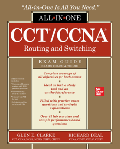 CCT/CCNA Routing and Switching All-in-One Exam Guide (Exams 100-490 & 200-301) Boekomslag