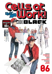 Cells at Work! CODE BLACK Volume 6 Book Cover
