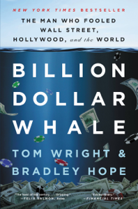 Billion Dollar Whale La couverture du livre martien