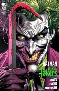 Batman: Three Jokers (2020-) #1 Copertina del libro
