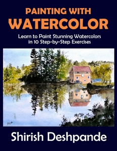 Painting with Watercolor Book Cover