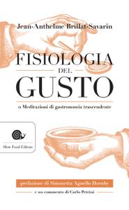 Fisiologia del gusto Copertina del libro