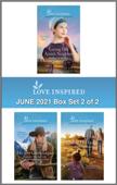 Love Inspired June 2021 - Box Set 2 of 2