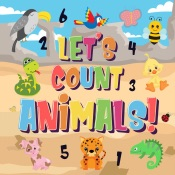 Let's Count Animals!  Can You Count the Dogs, Elephants and Other Cute Animals?  Super Fun Counting Book for Children, 2-4 Year Olds  Picture Puzzle Book