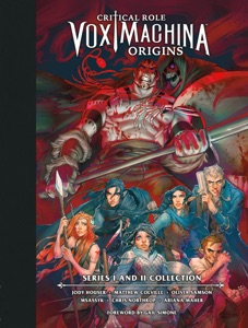 Critical Role: Vox Machina Origins Library Edition: Series I & II Collection Book Cover