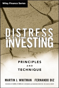 Distress Investing Book Cover