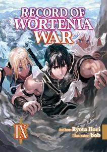 Record of Wortenia War: Volume 9 Copertina del libro