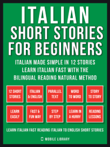 Italian Short Stories For Beginners (Vol 1) Libro Cover
