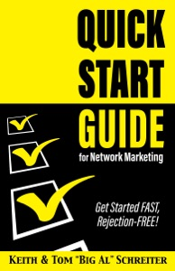 Quick Start Guide for Network Marketing Book Cover