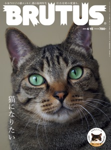 BRUTUS(ブルータス) 2021年 4月15日号 No.936 [猫になりたい] Book Cover