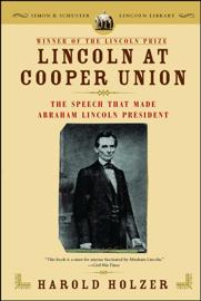 Lincoln at Cooper Union book