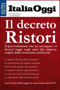 Il Decreto Ristori Copertina del libro