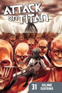 Attack on Titan Volume 31 Book Cover