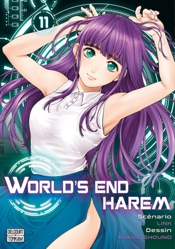 World's end harem - Edition semi-couleur T11