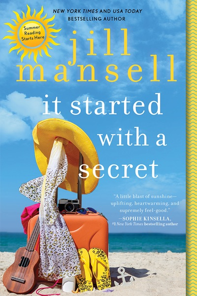 It Started with a Secret - Jill Mansell book cover