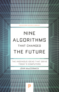 Nine Algorithms That Changed the Future Book Cover
