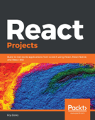 React Projects Book Cover