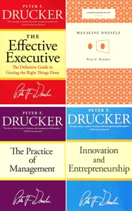 The Peter Drucker Collection Boxed Set ( 4 Books) The Effective Executive, Innovation and Entrepreneurship,Managing Oneself, The Practice of Management.
